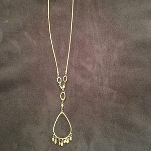 Long , gold tone Necklace